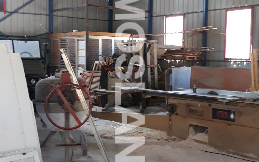 Βιομηχανικό κτήριο 330 τ.μ στο Σοφικό 2.200 ευρώ ΚΩΔ.9004
