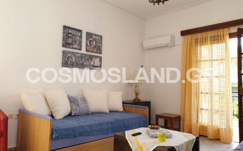 Διαμέρισμα 55 τ.μ. στα Λουτρά Ωραίας Ελένης 250 ευρώ