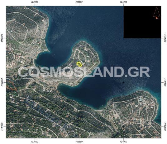 Οικόπεδο 1.003 τ.μ στο Αμόνι 70.000 ευρώ ΚΩΔ.5033